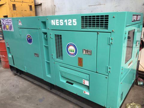 Máy phát điện 125kva cũ