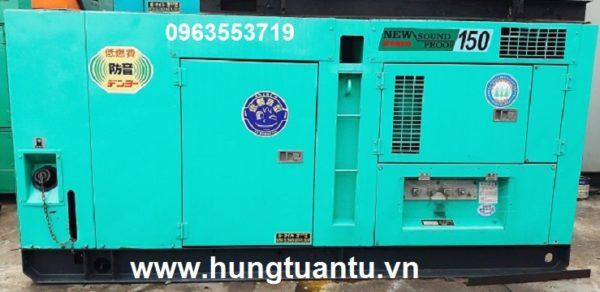Cho thuê máy phát điện 150kva tại tphcm