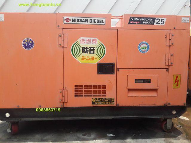 Máy phát điện Denyo 25kva