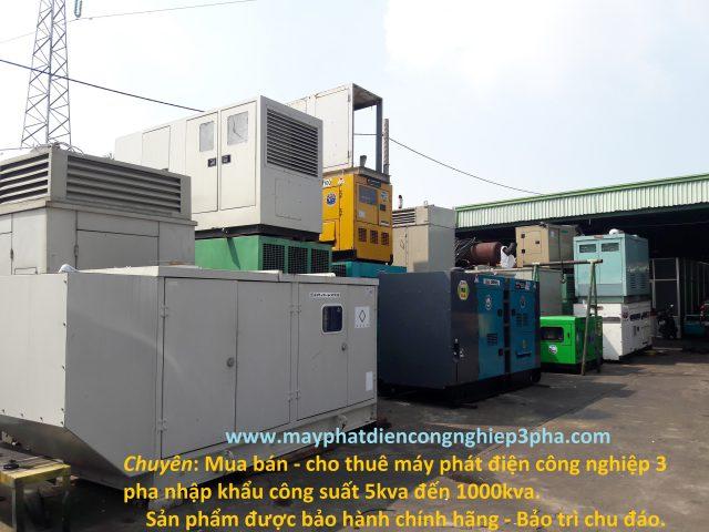 Máy phát điện công nghiệp 3 pha